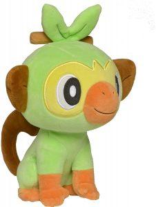 Peluche de Grookey de 20 cm 2 - Los mejores peluches de Grookey - Peluche de Pokemon
