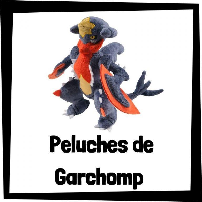 Lee más sobre el artículo Los mejores peluches de Garchomp