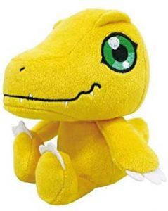 Peluche de Agumon de Digimon 2- Los mejores peluches de Digimon