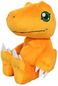 Peluche de Agumon de Digimon - Los mejores peluches de Digimon
