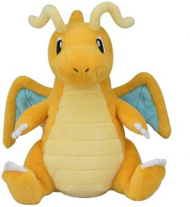 Peluche de Dragonite de 26 cm - Los mejores peluches de Dragonite de Pokemon