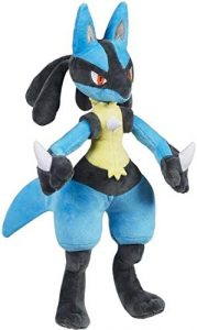Peluche de Lucario de 30 cm - Los mejores peluches de Riolu de Pokemon