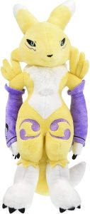 Peluche de Renamon de Digimon - Los mejores peluches de Digimon
