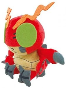 Peluche de Tentomon de Digimon - Los mejores peluches de Digimon