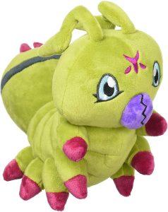 Peluche de Wormmon de Digimon - Los mejores peluches de Digimon